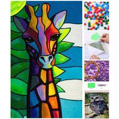 Nowy 5d diy plac diament malarstwo cross stitch zwierząt żyrafa pełne diamentów mozaiki zdjęcia robótki diament hafty