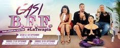 Casi B.F.F. #LaTerapia presentándose en el CBA-Santurce del 1-9 de septiembre. Consigue tus boletos aquí
