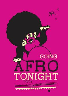 The Midnight Adventures of Ziko by Dimitra Tzanos - Going Afro Tonight Baby!