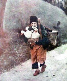 Peasant with geese, Iosif Berman Old Photographs, Old Photos, City People, Eastern Europe, World War Two, Vintage Photography, Cinematography, Romania, Two By Two