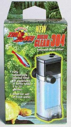 The Zoo Med Microclean 304 Internal Mini Filter is a great little filter for aquariums and terrariums from gallons in capacity. It is perfect for desktop aquariums, and with its adjustable flow feature it can be set to pump from gallons per hour (GPH). Salt And Water, Fresh Water, Terrarium Supplies, Aquarium Filter, Saltwater Tank, Freshwater Aquarium, Tropical Fish, Betta, Fish Tank