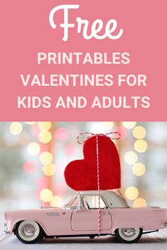 Valentine's Day is right around the corner and we've found free printable Valentine's Day cards for both kids and adults! Click the images to get your printables today Funny Valentines Cards, Printable Valentines Day Cards, Valentines For Kids, Stuff For Free, Free Printables, Corner, Education, Free Printable, Onderwijs