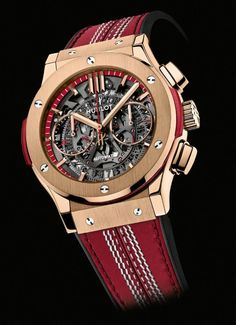 Hublot Celebrates New Cricket Partnership with Limited Edition Timepiece