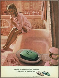 Phase III 3 Soap 1968 print ad / magazine advertisement #soap