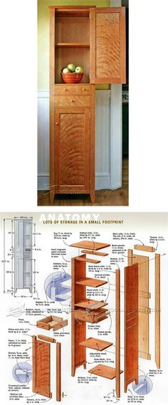 Chimney Cupboard Plans - Furniture Plans and Projects | WoodArchivist.com