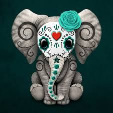 day of the dead elephant