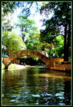 The beautiful Riverwalk in San Antonio, TX