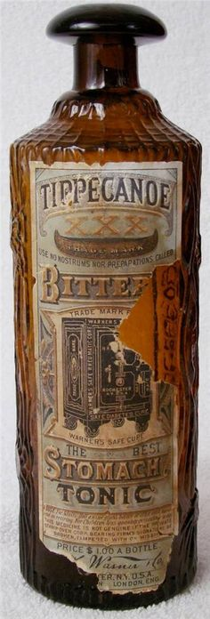 Tippecanoe XXX Bitters with full label