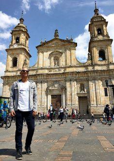 Catedral Primada Bogotá- Colômbia Louvre, Travel, Sidewalk, Bogota Colombia, Viajes, Destinations, Traveling, Trips