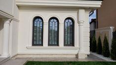 Proiect Casa Rezidentiala Bacau 2 – Profile Decorative Bungalow, Garage Doors, Nice, Interior, Outdoor Decor, Design, Home Decor, Prague, Tiny Houses