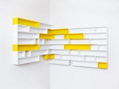 The cd-shelf is an eye-catcher in every flat