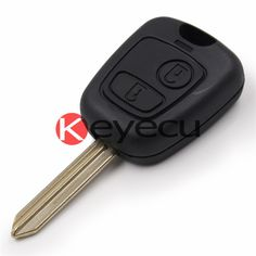 Best PCS Replacement Shell For PEUGEOT Partner Expert Boxer Button Remote plastic Key Fob Case WITH