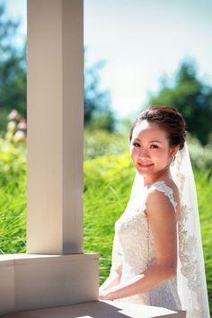 Natural sunlight.  #bride #weddingceremony #weddingportrait #headshot #weddinginspiration #weddingplanner #weddingday #weddingstyle #weddingvibes #weddinggown #weddingparty #weddings #weddingdress #weddingphotography