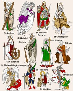 Catholic Saints: good for All Saint's Day activities/party
