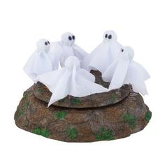 Department 56 4025396 Halloween Accessories for Dept 56 Village Collections The Ghost Dance Animated Accessory, 3.62-Inch
