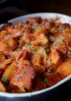 Chicken-pasta casser