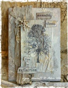 https://lynnesbowsandbelles.wordpress.com/ Spotlight in winter 2017 Somerset Studio Gallery By Lynne Moncrieff featuring Crafty Individuals and #paperartsy stamps