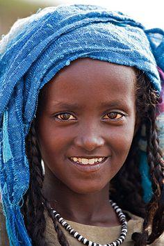 Africa | Afar girl from Eritrea | © Johan Gerrits