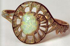 fouquet jewelry | bracelet by Georges Fouquet.