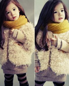 lauren lunde, at age 4, has more fashion sense in her tiny pinky finger than i do in my entire body. ahh.