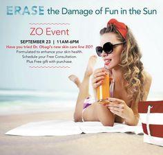 ZO Skincare Spa Event at Charleston Medical Spa