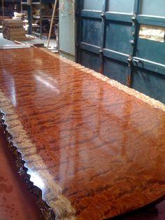 The Making of Our Waterfall Bubinga Table - Part II   West Penn HardwoodsWest Penn Hardwoods