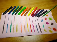 Product review - Inktense Blocks which allow you to draw or paint permanent designs onto fabric.
