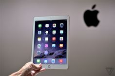 iPad Air 2 hands on. The Verge Ipad Air 2, Ipad Mini 3, Minis, Iphone 6, Apple, Youtube, Lighter, Html, Christmas