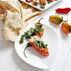 Mini Sweet Pepper Poppers - made these 4/24 with fat free cream cheese, asiago cheese, and guacamole salsa. Wonderful!! will definitely make again.
