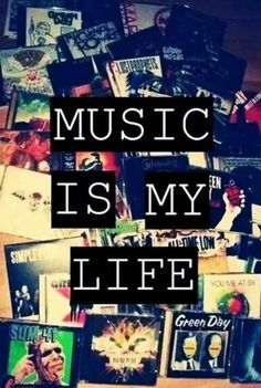Music is my Life Bands featured : Sum 41, Green Day, All Time low,  Simple Plan, You Me at Six