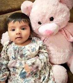 "Daughter of Suresh Raina ""Gracia Raina"" Two dolls in a single pic - http://ift.tt/1ZZ3e4d"