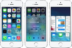 A simple guide to designing with iOS 7 ... and remember to think flatter!  #iOS7 #Apple #FlatDesign #Design