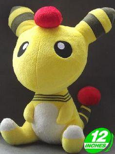 Pokemon Ampharos 12-Inch Anime Plush Doll *FREE SHIPPING*