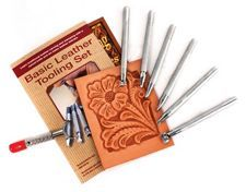Basic Tooling Set - learn essentials of leather working with the included tools. *great for beginners