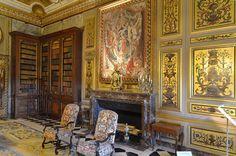 Bibliothèque - Château de Vaux-le-Vicomte - France