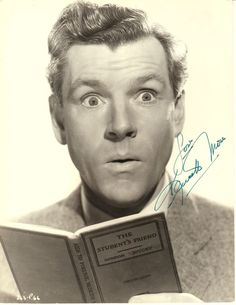 Kenneth More. Love him in The Admirable Creighton.
