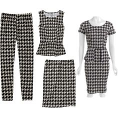 Can't get enough #houndstooth this fall! #fallfashion