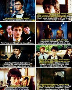 Harry Potter is a sass.