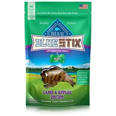 4 OZ, Lamb & Apples Recipe Mini Stix for Dogs ~~ Please be sure to check out this awesome product. (This is an affiliate link and I receive a commission for the sales)