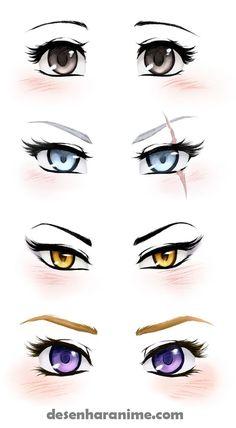 Manga Drawing Tips ruby, rwby, blake, yang, weiss - Realistic Eye Drawing, Manga Drawing, Manga Art, Drawing Sketches, Art Drawings, Anime Art, Drawing Eyes, Drawing Art, Animae Drawings