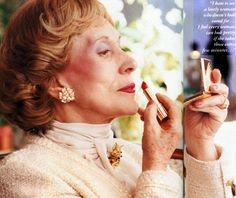 """""""I never dreamed about success - I worked for it."""" -Estee Lauder, creator of her own cosmetics empire"""