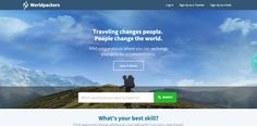 Worldpackers- Exchange your skills for accommodation