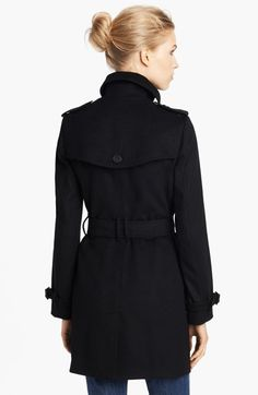 Burberry London Double Breasted Wool & Cashmere Coat | Nordstrom