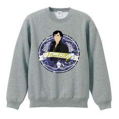 Sherlock Holmes sweatshirt for men gray sweatshirt pullover