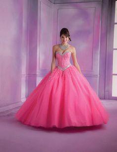 Flashy Robe de mariée rose, collectionVizcaya, Mori Lee.