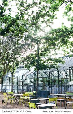 Green house at Babylonstoren Greenhouse Restaurant, Picnic Style, House Photography, Farm Shop, Greenhouse Gardening, Lush Garden, Garden Structures, Glass House, Growing Plants