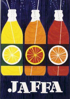 retro Jaffa ad card Jaffa (Finnish orange lemonade/soft drink) ad card by Erik Bruun Old Poster, Poster Ads, Poster Prints, Advertising Poster, Advertising Campaign, Pub Vintage, Vintage Labels, Vintage Posters, Vintage Graphic