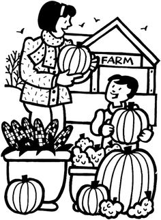 people and places coloring pages mom and girl reading