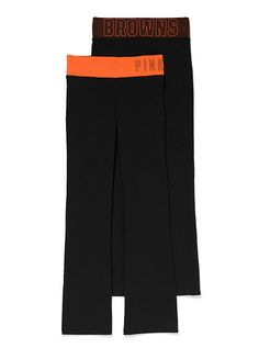 Cleveland BrownsClassic Bootcut Yoga Pant PINK