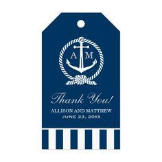 nautical wedding gift tag http://www.itgirlweddings.com